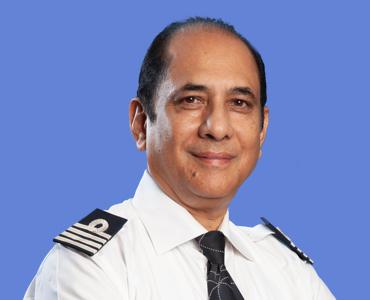 Indigo Captain Ashim Mittra